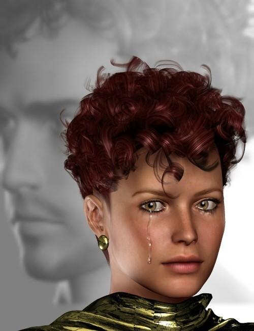 Digital Curlz Hairstyle 3d Models For Daz Studio And Poser