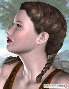 Xylia Double French Braids