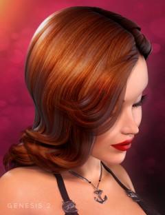 Diva Hair for Genesis 2 Female(s)