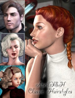 AprilYSH Classic Hairstyles
