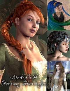 AprilYSH Fantasy Hairstyles
