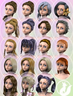 Aiko 3 Hair Pack