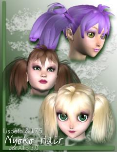 Nyoko Pigtail Hair