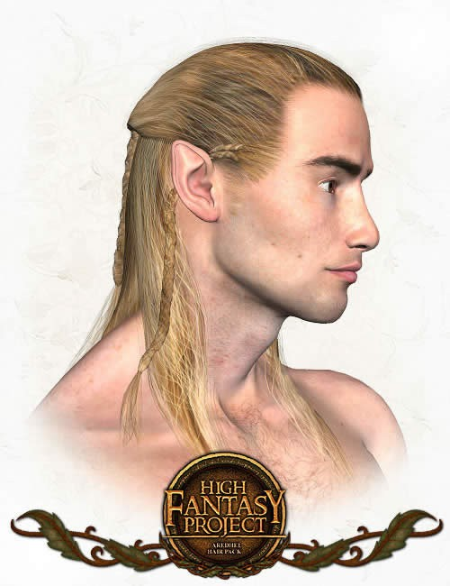Aredhel Elf Hair Preview