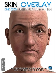 Skin Overlay for V4 and M4 Skin Sets