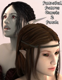 Fantastical Features for Genesis 2 Female(s)