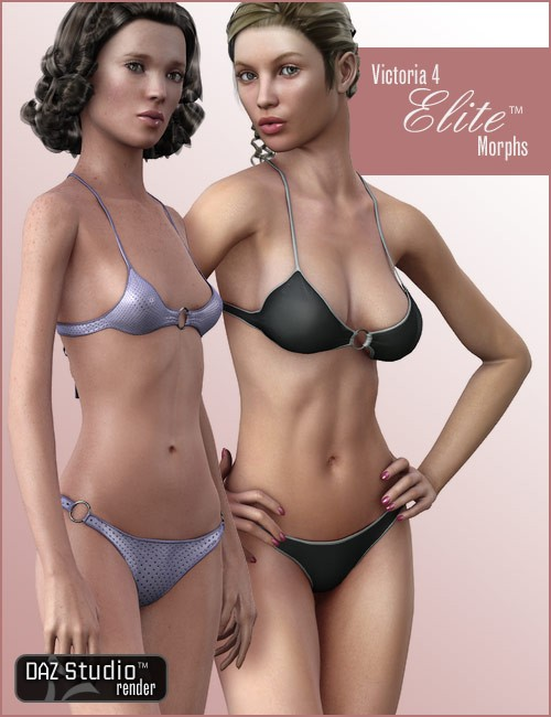v4 elite body shapes humanoid morphs for daz studio and poser. Black Bedroom Furniture Sets. Home Design Ideas
