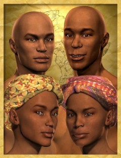 Faces of Africa Bundle for M3 and V3
