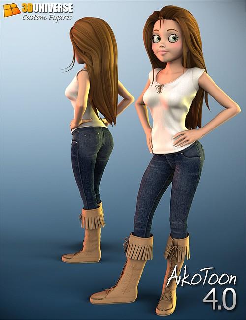 3D Universe AikoToon 4