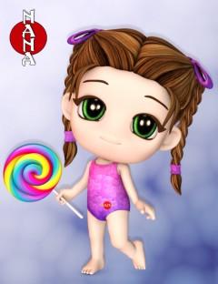 Nana Original Chibi Toon Figure