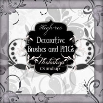 Decorative Brushes and PNG's
