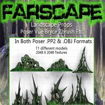 FarScape Landscape Props