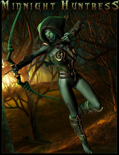 Midnight Huntress for Genesis 2 Female(s)