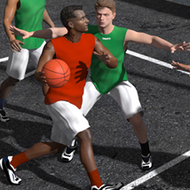 WM Streetball - poses for M4
