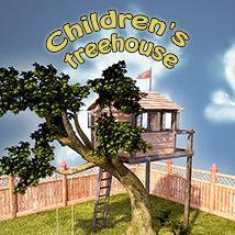 Children's treehouse