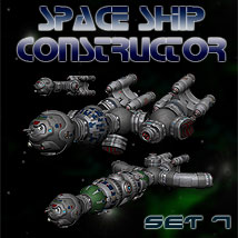 Space Ship Constructor Set 7