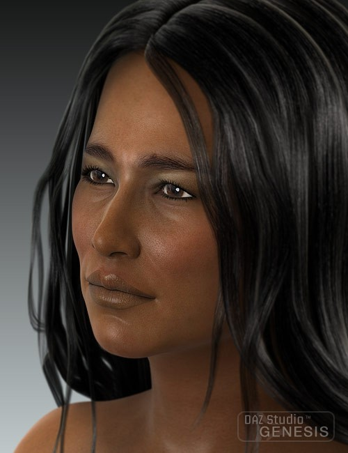 Cherokee Facial Features >> Ethnicity for Genesis: Native American | Humanoid Morphs ...