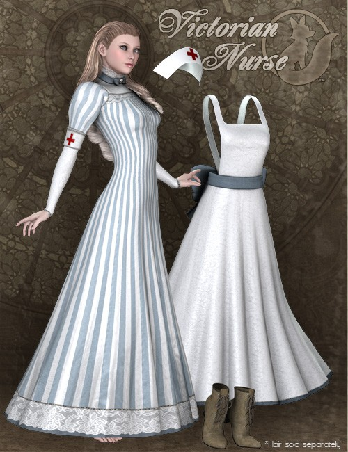 Victorian Costume Victorian Nurse for V4...