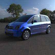 Chevrolet Meriva 2003 (for Wavefront OBJ)