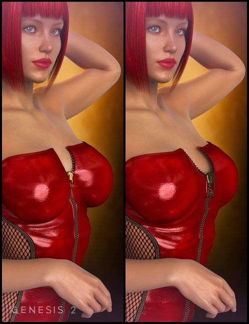 Clothing Breast Fixes For Genesis 2 Female