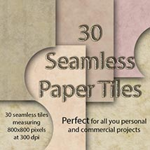 Seamless Paper Tiles