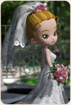 Wedding Dress for Cookie