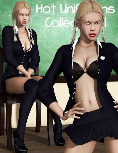 Hot Uniforms - College Girl