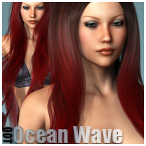 Ocean Wave Hair and OOT Hairblending
