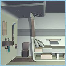 Micro Motel Room