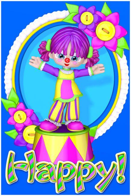 Gumdrops: Happy the Clown