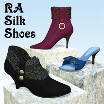 RA Silk Shoes