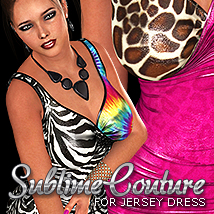 NYC Couture: Jersey Dress 2
