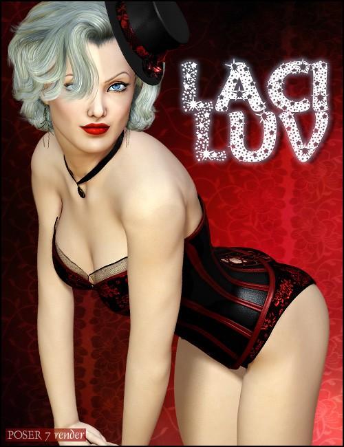 LaciLuv the Corset Beauty for Victoria 4.2