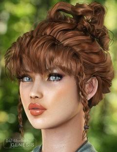 Lady Elf Hair for Genesis