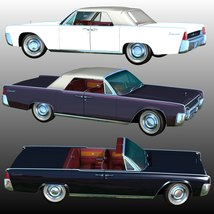 LINCOLN CONTINENTAL 1961 (for Poser)