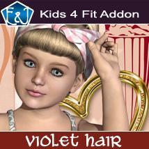 Kids4 Fit Addon For Violet Hair