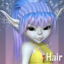 Toon Salon Hair Series-2