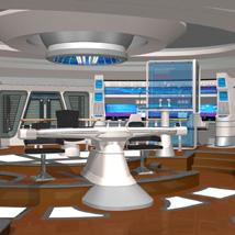 Starship Bridge XI (for Poser)