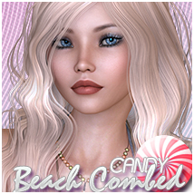 Candy Beach Combed