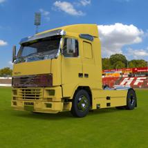 Volvo Truck (for 3D Studio Max)