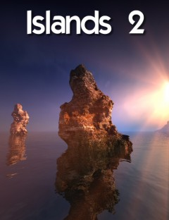 Bryce 7.1 Pro - Islands 2 including Skydomes