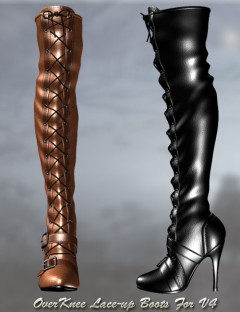 OverKnee Lace-up Boots