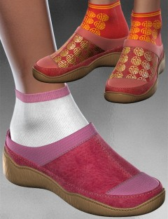 Candy Clogs Ankle Socks For V4 A4