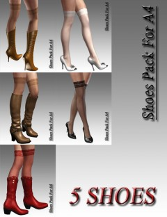 Shoes Pack For A4