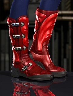 High-Tech Trekker Boots for V4 and A4