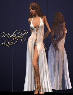 Midnight Lace- the Negligee for V4 & SSV