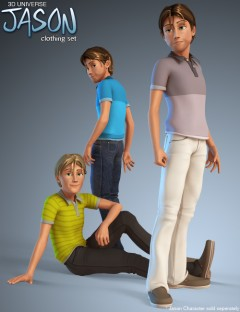 Jason for Genesis (Clothing)