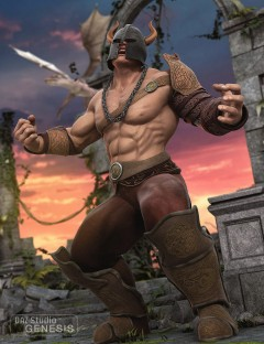 Barbarian Warlord for Genesis