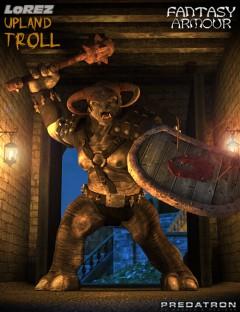 Upland Troll Fantasy Armour