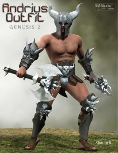 Andrius Outfit for Genesis 2 Male(s)